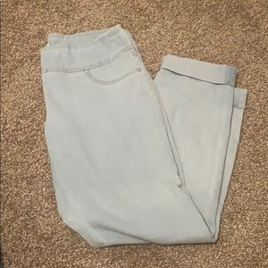 Pull Up Waist Jeans, size 4